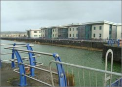 The North Dock at Llanelli January 2013