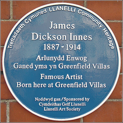 James Dickson Innes Blue Plaque