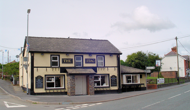 The Stag Public House at Five Roads