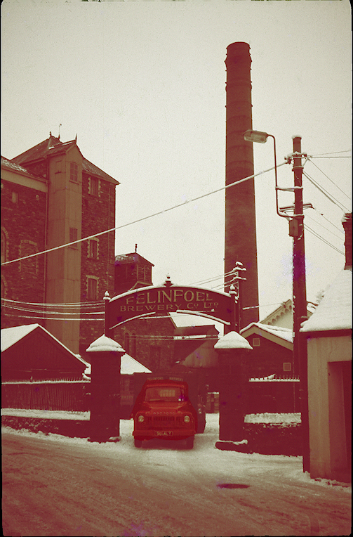 Felinfoel Brewery 1963. Image provided by Mr. Graham Cross.