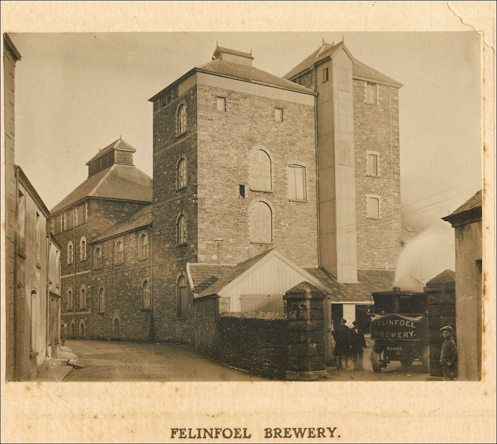 Felinfoel Brewery early 1900s