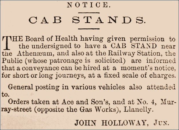 Holloway advert 1871